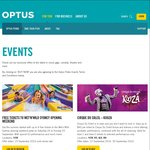 Optus Perks - Free Tickets to Wet'N'Wild Sydney Opening Weekend (24th and 25th September 2016)