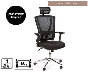 Fantastic Aldi Ergonomic Office Chair 99 99 Ozbargain Machost Co Dining Chair Design Ideas Machostcouk