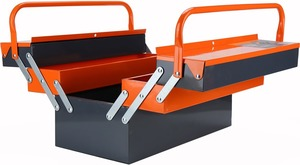Craftright 5 Tray Metal Cantilever Toolbox $15 @ Bunnings
