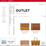 Oroton Outlet - 70% off, Storewide, Click Frenzy Sale, Delivery $14.95, Free if You Spend over $400