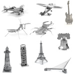 3D Metal Model Puzzles (25 to Choose from) USD $1.63 (AUD $2.24) Delivered @ AliExpress