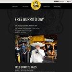 Guzman Y Gomez Free Burrito Day, Thursday 1st Dec @ Hawthorn, VIC (12pm - 7pm)