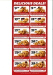 KFC Delicious Deals - (WA & NT Only)