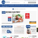 BigW Photos 50% off Poster Prints, Glass Prints & More