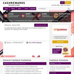 Cashrewards AliExpress Cashback Increased to 10% (Was 7%)
