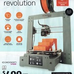 $499 Cocoon Create Touch 3D Printer from ALDI Sat 13/05/2017