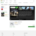 [Xbox 360] Halo: Reach Noble Map Pack is now FREE (Was $9.99) @ Xbox.com