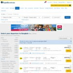 Melbourne to Bangkok Return (with Overnight Stop in Singapore) $155pp X 2 ($312 Total) Including Bags on Scoot (23/10-1/11)