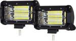 "Pair of 5"" 72 Watt LED Light Flood Beam 5% off: $95 + Free Shipping @ WOWShopping.com.au"
