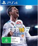 PS4 FIFA 18 on Big W $49