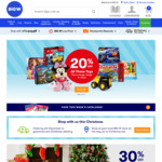 Christmas Trees 50% off, 247g Cadbury Stocking $3.50 (Was $7) @ Big W in-Store