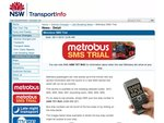 Sydney Buses - Free SMS Trial!