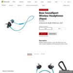 Bose SoundSport Wireless Headphones $179 (Was $249) @ Microsoft Store