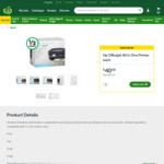 HP OfficeJet 3830 All-in-One Printer: Half Price - $40, Was $80 @ Woolworths