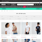50% off 500 Styles (Skinny Jeans $31 (Was $114), T-Shirts as Low as $9) @ ASOS