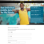 Optus Unlimited Mobile Data from $60/Mth
