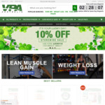 VPA AUSTRALIA 10% off Sale Everything in Store