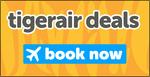 Flights One Way - Sydney > Gold Coast $19.95, Sydney > Perth $49, Sydney > Adelaide $29.95 + More @ Tiger Air