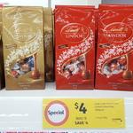 [VIC] Lindt Lindor Assorted Chocolate Varieties 300g - 308g $4 @ Coles