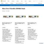 Xbox One S 500GB + 6 Games - $299 @ Microsoft Store
