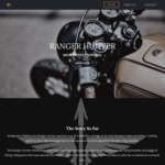 Ranger Hunter Motorcycle Apparel Launch Sale 20% off Storewide