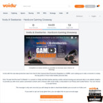 Win 1 of 12 Gaming Prizes from SteelSeries/Voidu