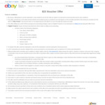 [Targeted] Free $15 eBay Voucher with Email Opt In (No Min Spend)