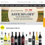 50% off Selected Wines for Westpac Credit & Debit Card Customers @ Cellarmasters