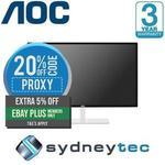 AOC Q3279VWFD8 31.5in QHD (2560x1440) 75Hz AMD FreeSync (IPS PANEL) AU $258.75 Delivered (with eBay Plus) @Sydneytec eBay