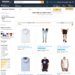 [Amazon Prime] Save 60% on Select Men's Clothing (E.g. Tommy Hilfiger, Calvin Klein & More) @ Amazon AU