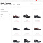 Hush Puppies - All Men's Dress Shoes $99 and under - Free Delivery Online with $99 Spend