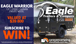 Win an Eagle Warrior 12ft Hybrid Camper Worth $41,995 from Caravan Camping Classifieds