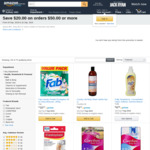 Save $20.00 on Orders $50.00+ on Select Health & Personal Care Items/Baby Essentials, Delivery ($0 Prime/ $49 Spend) @ Amazon AU