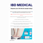 Free Sample of Dia-Balm Diabetic Foot Care Cream