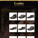 Free Pair of Shoe Trees or Shoe Care Kit (Valued $119) with Any Legacy Shoe Purchase @ Loake Shoes