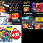 Meguiar's Washes $14.99, ArmorAll Protectants $10.79, WD-40 40% off + More @ Supercheap Auto