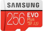 Samsung EVO Plus 256GB MicroSD Card US $41.99 (~AU $58.43) Delivered @ Joybuy