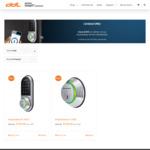 Keylesskey Deadbolts KL-100S $199 (Was $299) and KL-100B $149 (Was $249) Delivered @ Digital Door Locks (First 100 Customers)