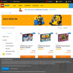 LEGO City Advent Calendars (City, Star Wars or Friends) $39.99 Each Delivered @ LEGO Shop (Free VIP Membership Required)