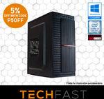 Intel i3 8100 120GB SSD 8GB DDR4 RX 570 4GB Gaming PC $539.10 Delivered + More @ Techfast eBay