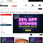 House (Cyber Monday) 25% off Sitewide Including Sale Items (Free Shipping with code freeship)