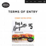 [NSW] Any Bread Item $5 @ Soul Origin, Sydney CBD