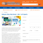 Win 1 of 5 iPads (6th Generation 32GB Space Grey) Valued at $469 Each from Good Price Pharmacy
