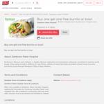 [QLD] Buy One Get One Free Burrito or Bowl @ Zambrero via Shop-a-Docket