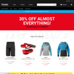 Closing Down Sale - 30% off (Almost) Everything, 20% off Clearance Prices @ Torpedo7 Australia)