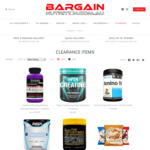 Viper + Ultimate Nutrition Creatine $5 (Was $29.90), PEScience Amino IV $19 (Was $49.90), Shipping $10 @ Bargain Nutrition