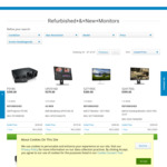 "Dell UltraSharp UP2516D 25"" 1440p Monitor $379 Delivered (As New) @ Dell Outlet"
