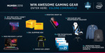 Win 1 of 23 Prizes (ASUS ROG Scar II Laptop/ Intel i7-9700K/ $300 NEEDforSEAT Voucher/ etc) from ESL