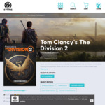 [PC] Tom Clancy's The Division 2 Ultimate Edition $89.97 (50% off) @ Ubisoft
