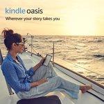 "Amazon Kindle Oasis 7"" 32GB, Cellular $449 + Free Shipping @ Amazon (RRP $549)"